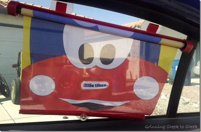 Cozy Coupe Window Shade