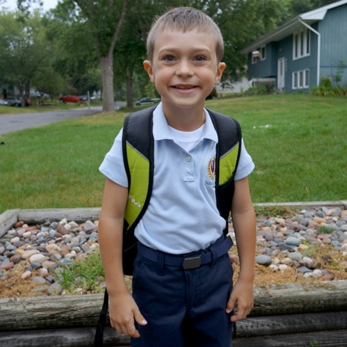 Andrew First Day