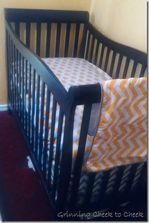 Tiny Totties Swizzle Crib Bedding