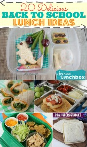 20 Delicious Back to School Lunch Ideas!