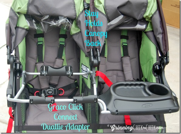 BOB Revolution Flex Double Stroller GettingFit