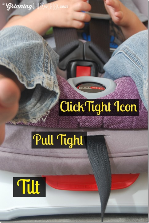 The Britax Marathon ClickTight Convertible Car Seat Is Easy And Smooth To Loosen Tighten Its Get Harness Clipped Snug On Baby E Or