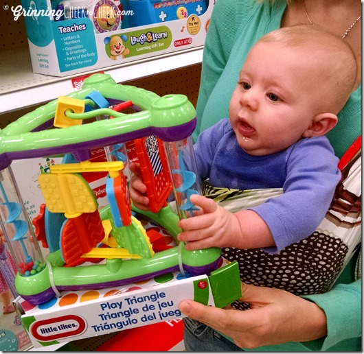 we enjoyed shopping together in target just as much as the kiddos are enjoying the toys - Target Christmas Toys