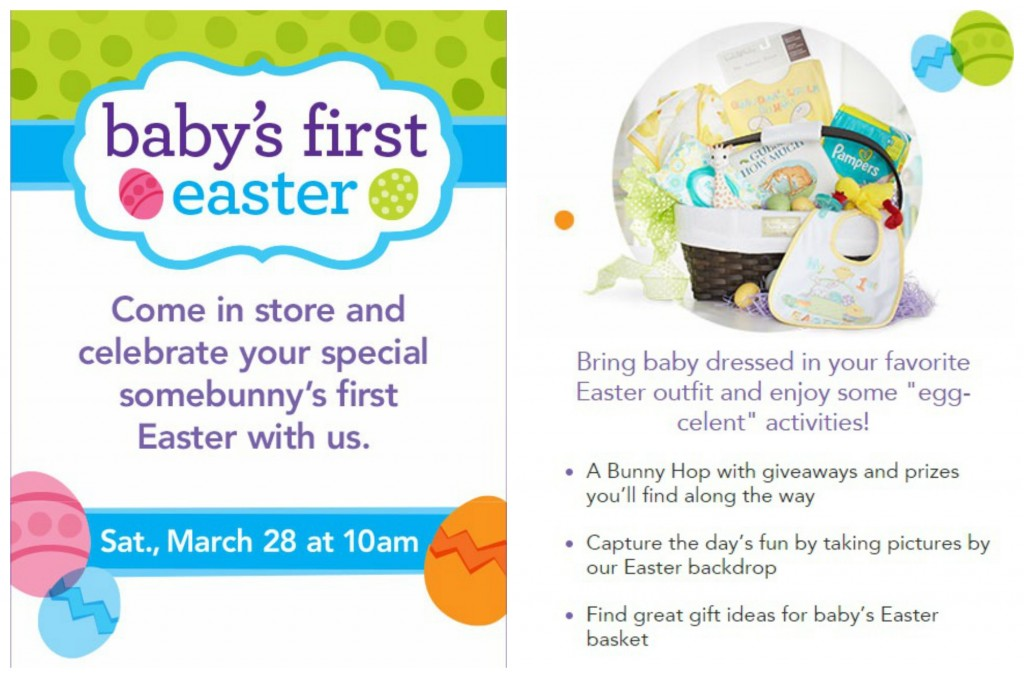 Babiesrus celebrates babys first easter free event bru collage easter babiesrus negle Choice Image