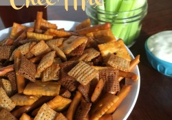 Buffalo Chex Mix a