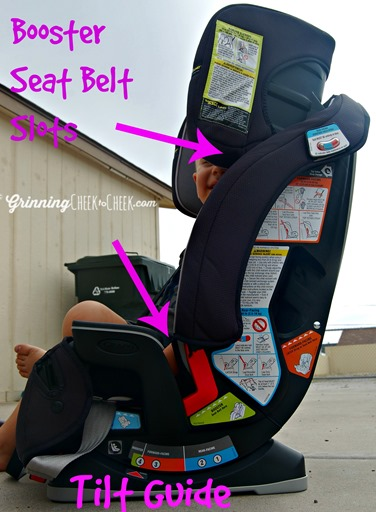 graco car seat installation instructions