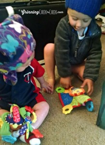 Nuby Floppers Teether Toy #Baby #Teething Review