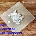 Homemade Baked Crab Rangoon