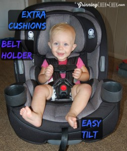 Safety 1st Grow and Go 3-in-1 Car Seat! #Giveaway