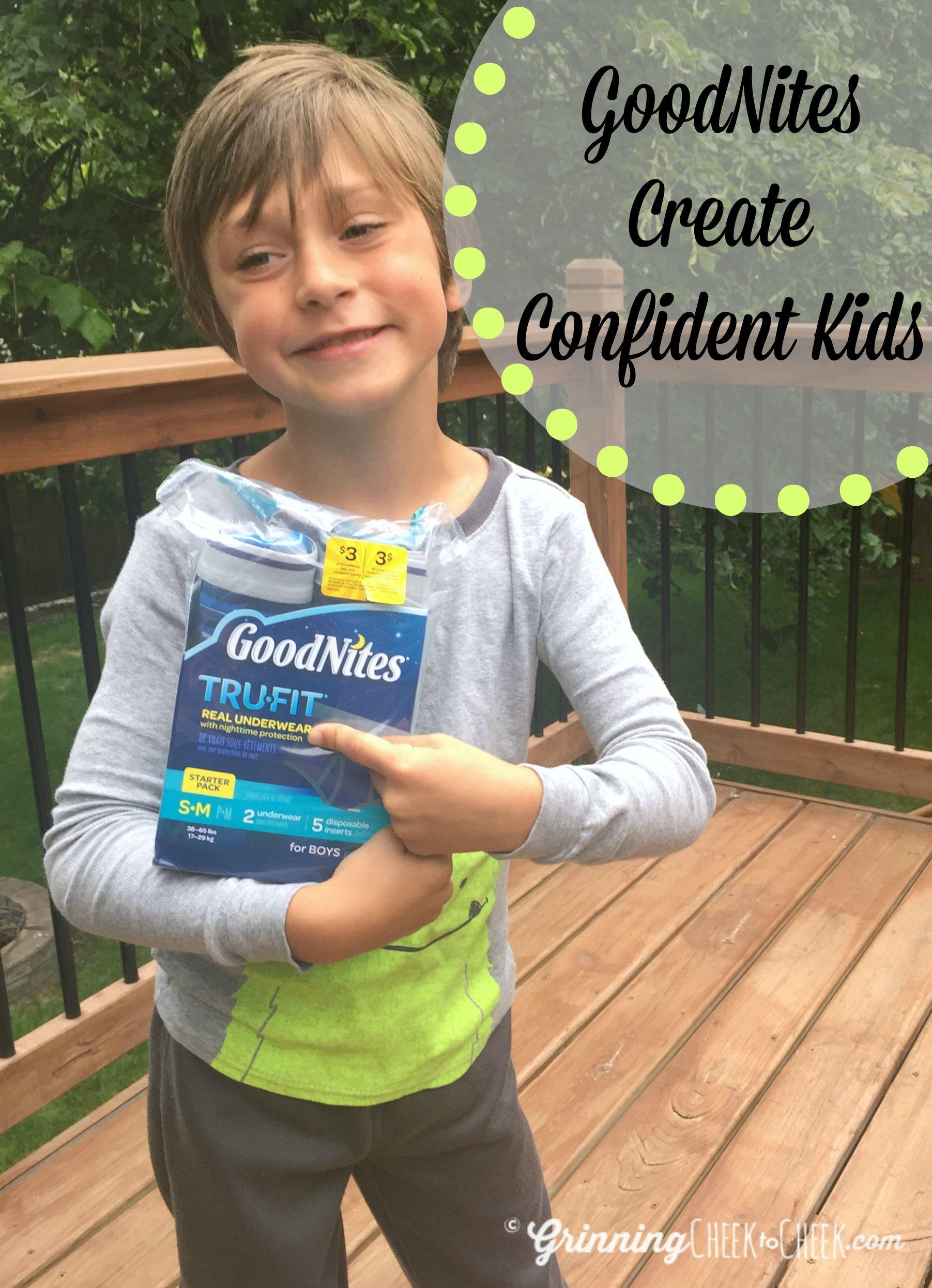 Goodnites Create Confident Kids Confidentkids Ad Cbias - Grinning Cheek To Cheek-7564