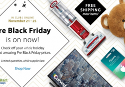 Pre-Black-Friday Sales