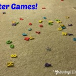 Uses for Foam Bath Numbers and Letters!