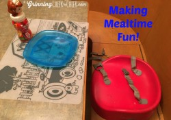 making mealtime fun