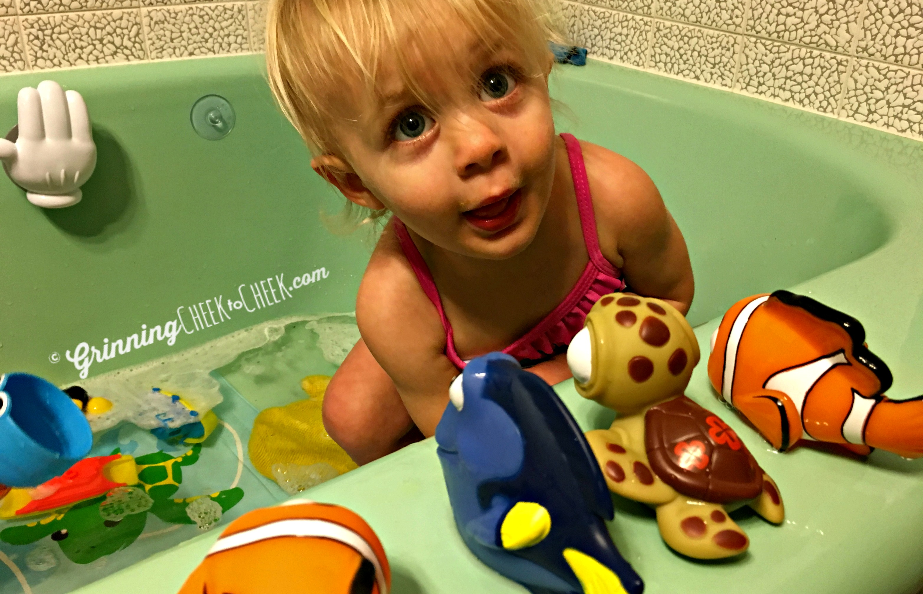 Finding Nemo Bath Toys With Thefirstyears Grinning Cheek To Cheek