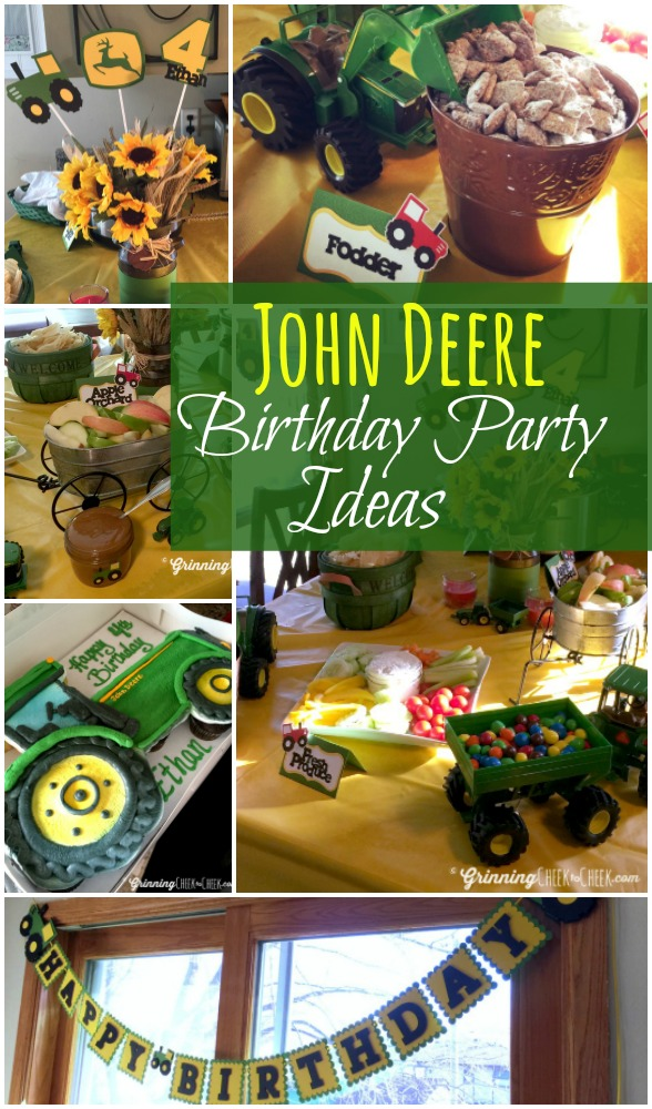 John Deere Birthday Party And Tractor Ideas For The Best Themed Ever