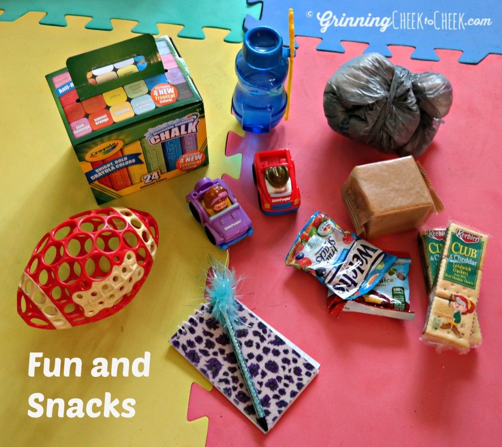 Fun and snacks car kit