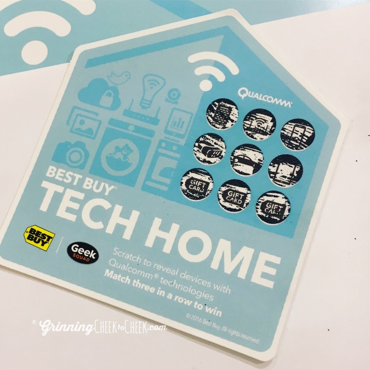 Tech Home Scratch-Off Game