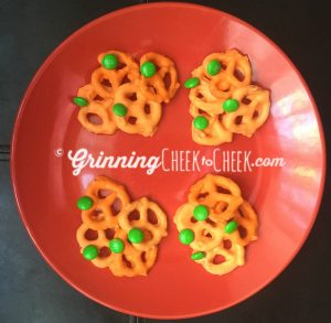 Pumpkin Pretzels #Autumn #Recipes