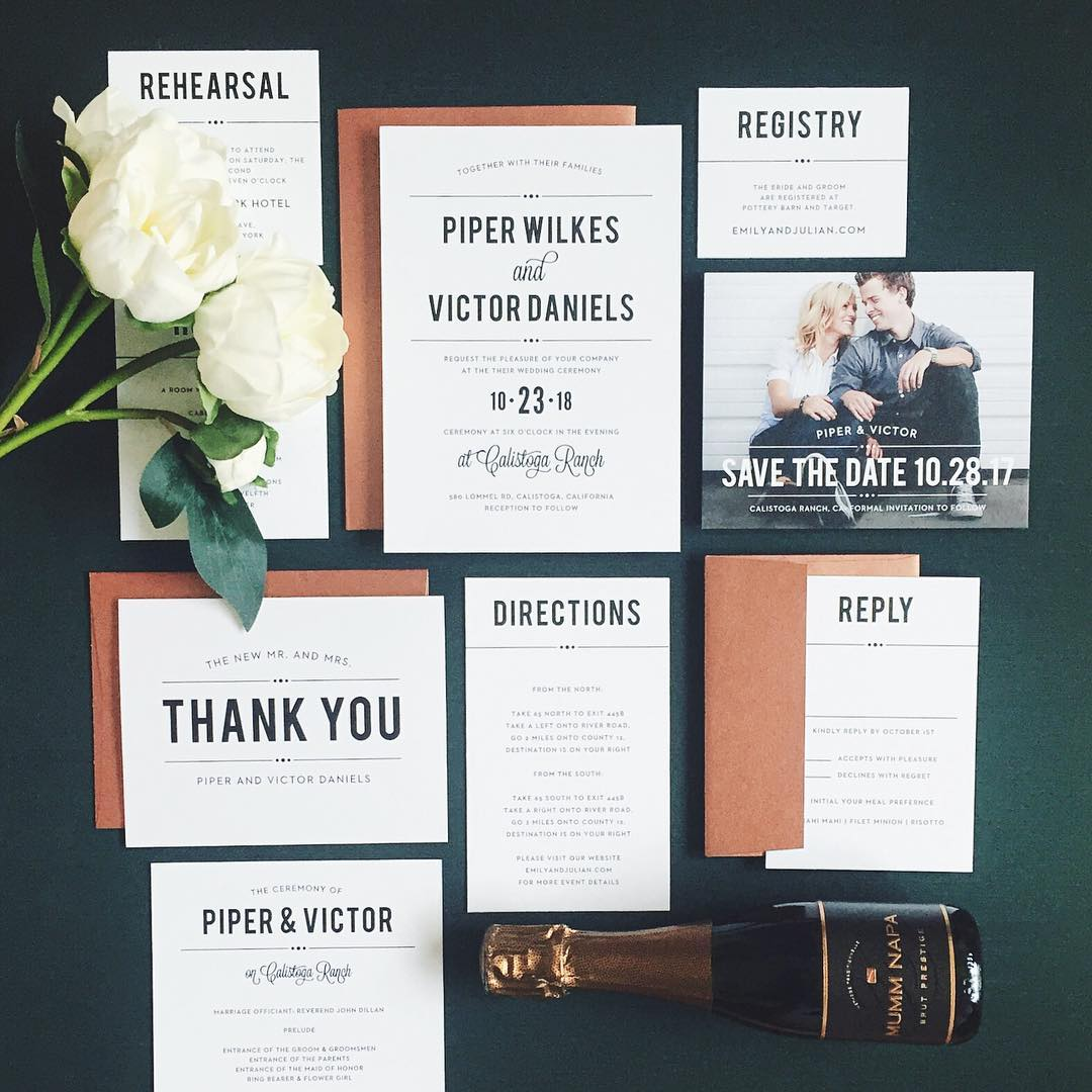 Wedding Invitations Basic Invite