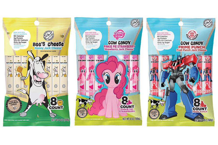 Cow Candy A Moo Gical Cheese Snack Kids Love Grinning