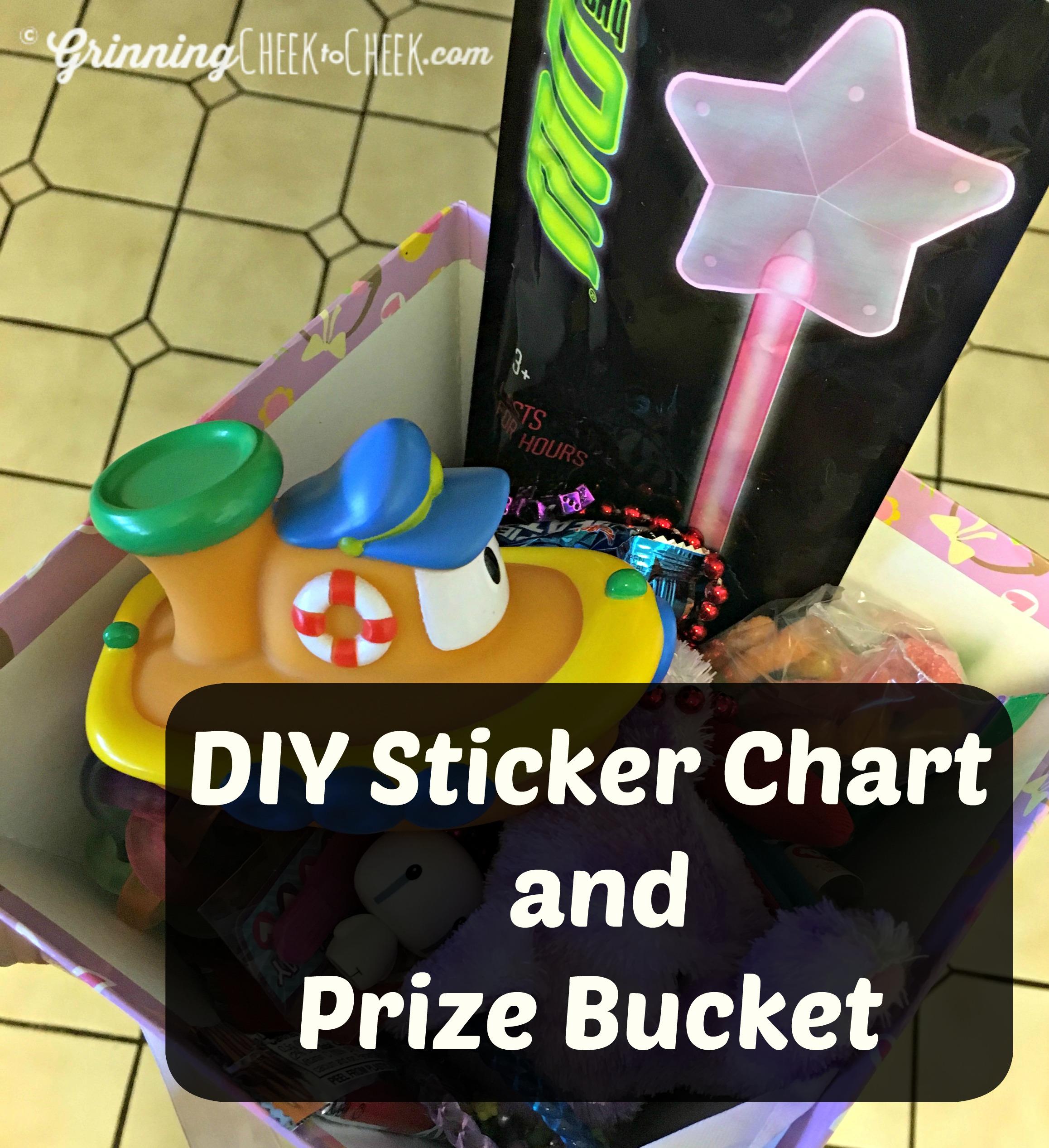 DIY prize chart