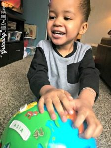 Globe for kids- Puzzle Globe with Learning Resources