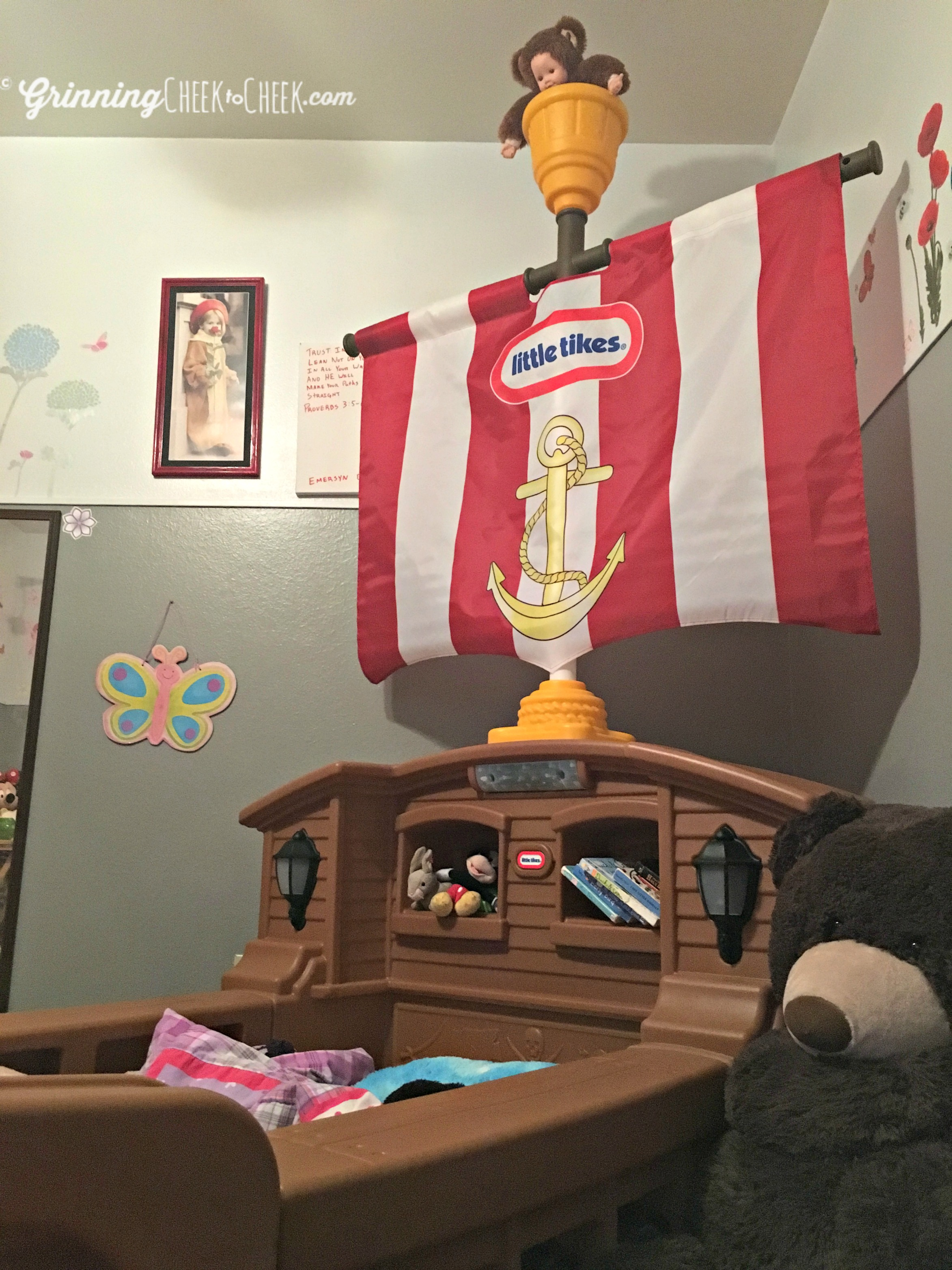 Little Tikes Pirate Ship Bed