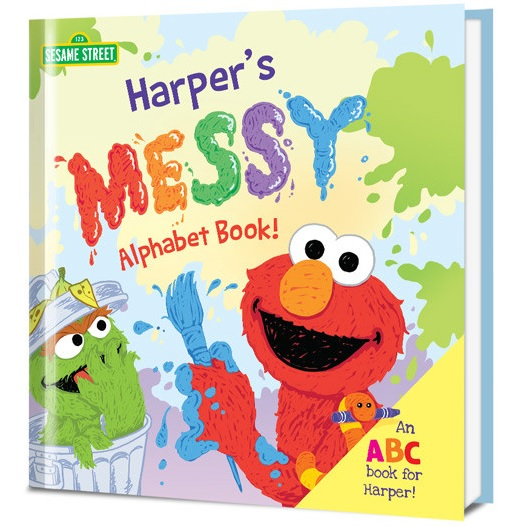 Sesame Street Messy Alphabet Book And Giveaway #Ad